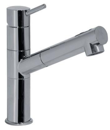 tres robinet mitigeur d vier douchette chrome 130434. Black Bedroom Furniture Sets. Home Design Ideas