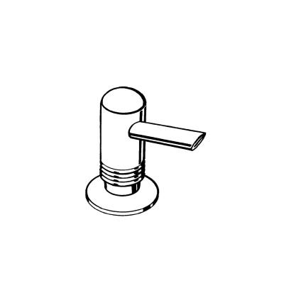 hansgrohe distributeur de liquide vaisselle 40418000. Black Bedroom Furniture Sets. Home Design Ideas