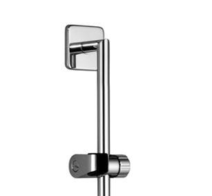 Villeroy boch barre de douche avec curseur 26 701 960 00 chrome - Curseur barre de douche ...