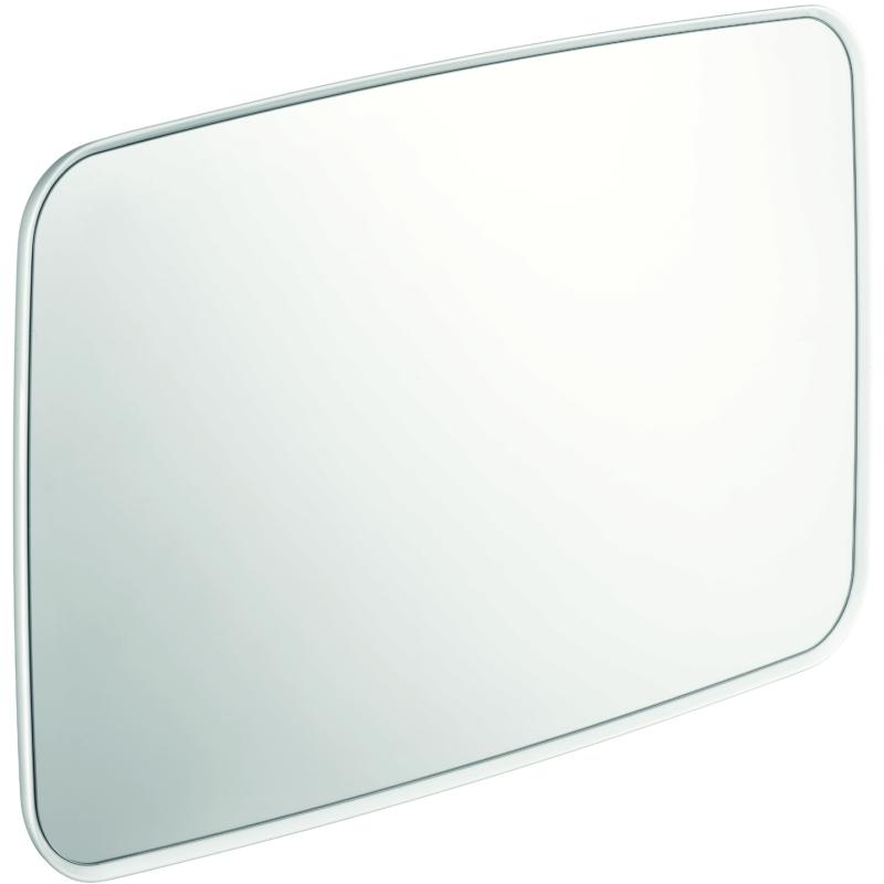 Axor bouroullec miroir coins arrondis 50x80cm 42685000 blanc for Miroir 100 x 50