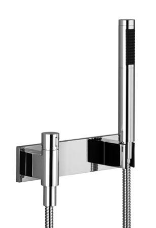 dornbracht symetrics garniture de douche pour montage mural incluant un robinet d 39 arr t avec. Black Bedroom Furniture Sets. Home Design Ideas
