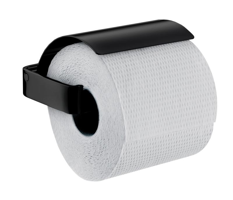 emco loft porte rouleau de papier toilette de r serve 050013400 noir. Black Bedroom Furniture Sets. Home Design Ideas
