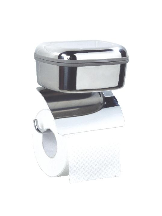 geesa serie 1000 bo te lingette et porte papier de toilette 1130 chrome. Black Bedroom Furniture Sets. Home Design Ideas