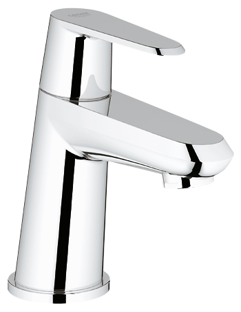 grohe eurodisc robinet de lave mains 23051002 chrome. Black Bedroom Furniture Sets. Home Design Ideas