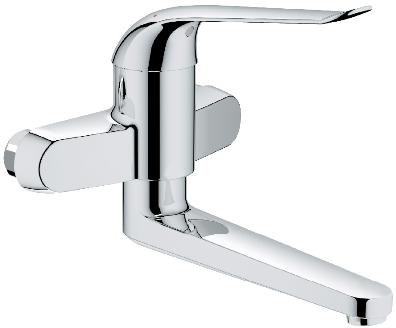 grohe euroeco special mitigeur mural de lavabo 32772000 chrome. Black Bedroom Furniture Sets. Home Design Ideas