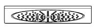 grohe rainshower f series f10 douche plafonnier 27467000. Black Bedroom Furniture Sets. Home Design Ideas