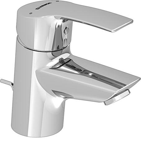 Hansa hansapolo mitigeur de lavabo avec vidage 51402273 chrome for Robinet cuisine solde