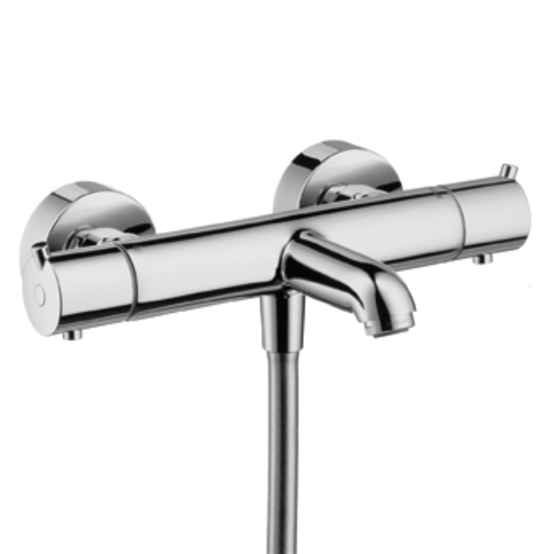 hansgrohe ecostat s mitigeur thermostatique bain douche 13245000 chrome. Black Bedroom Furniture Sets. Home Design Ideas