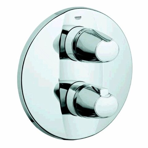 Grohe grohtherm 3000 fa ade pour mitigeur thermostatique - Reglage mitigeur thermostatique douche ...