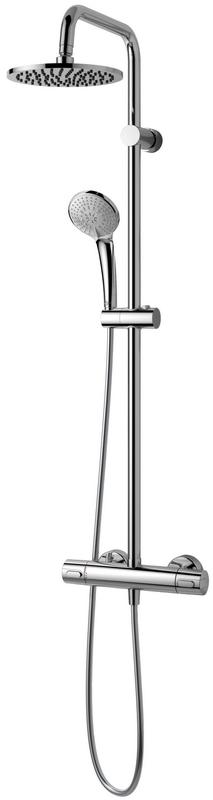 Ideal standard idealrain colonne de douche 90cm avec thermostatique a5686aa - Colonne de douche ideal standard ...