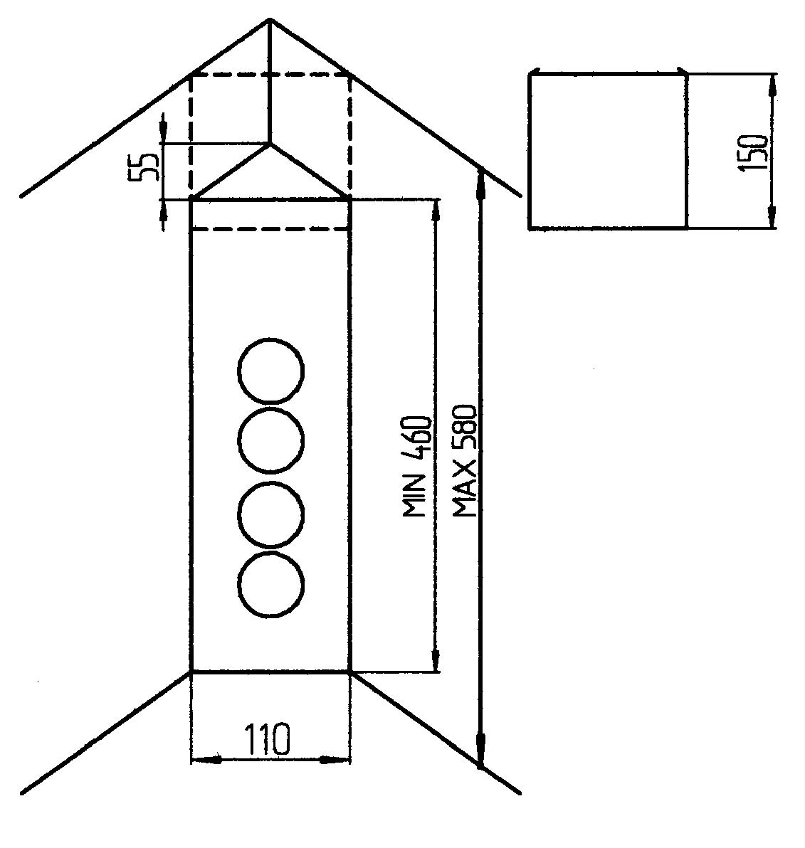Thebo prise t l scopique d 39 angle vsts 3007 normes de nl for Hauteur prise et interrupteur
