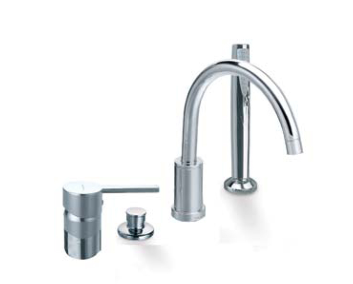 Ramon soler drako 3333 d ensemble bain douche sur gorge - Moderne badkraan ...