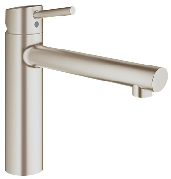 Grohe concetto mitigeur d 39 vier bec coul orientable for Grohe concetto cuisine