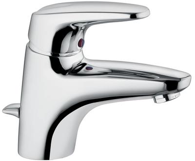 kludi objekta mix new mitigeur de lavabo avec vidage 332330575 chrome. Black Bedroom Furniture Sets. Home Design Ideas