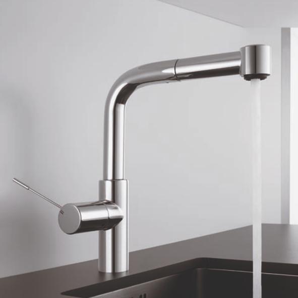 kwc ono robinet mitigeur d vier douchette chrome. Black Bedroom Furniture Sets. Home Design Ideas