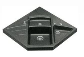 blancomodus m 90 silgranit module vier de coin anthracite 513 256. Black Bedroom Furniture Sets. Home Design Ideas