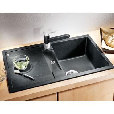blancometra 45 s silgranit vier 1 cuve encastrer par le haut jasmin 513 188. Black Bedroom Furniture Sets. Home Design Ideas