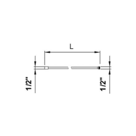 Similor Kugler SimiFlex flexible synthétique 1/2-1/2 180cm 5.04760 ...