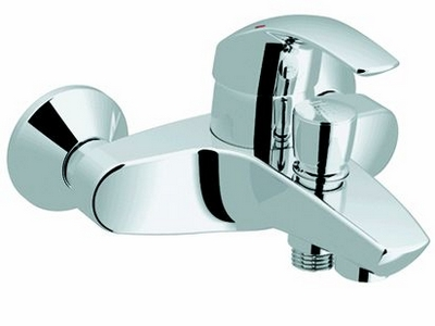 grohe eurosmart mitigeur mural de bain douche 33300001 chrome. Black Bedroom Furniture Sets. Home Design Ideas