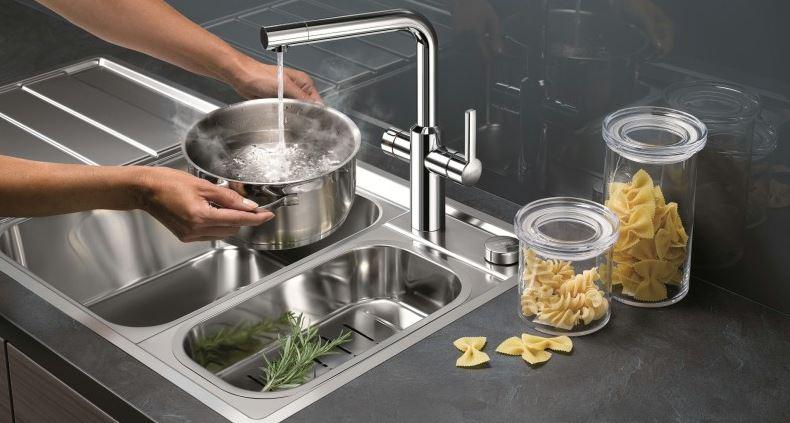 Blanco hot robinet mitigeur de cuisine eau bouillante - Robinet cuisine solde ...