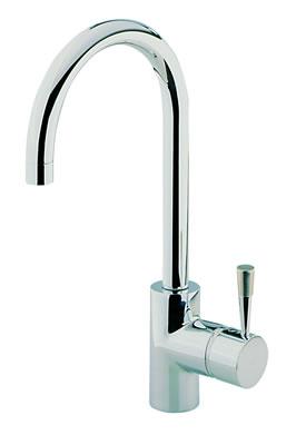 Cisal pumpy robinet mitigeur d vier bec look inox for Evier inox solde