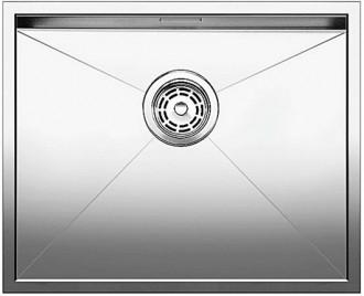 Blancozerox 500 u vier sous monter et pour encastrement affleurant 517245 acier inoxydable - Monter un meuble sous evier ...