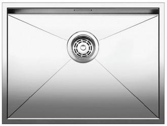 Blancozerox 550 u vier sous monter et pour encastrement affleurant 517247 acier inoxydable - Monter un meuble sous evier ...